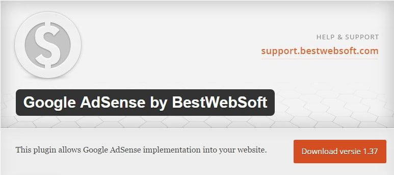 Google AdSense by BestWebSoft