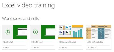 Free Excel Training