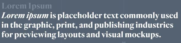 WordPress generic text generator