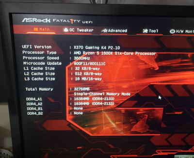 Bios Upgrade