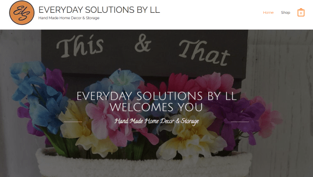 Everyday Solutions - client website
