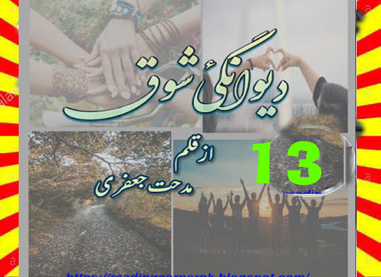 Deewangi E Shouq Urdu Novel By Midhat Jaffery Episode 13