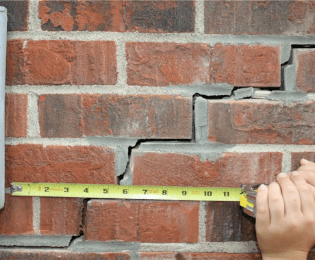 What goes into determining the cost of fixing a crack?