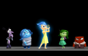 """Disney•Pixar's """"Inside Out"""" takes moviegoers inside the mind of 11-year-old Riley, introducing five emotions: Fear, Sadness, Joy, Disgust and Anger.  ©2013 Disney•Pixar.  All Rights Reserved."""