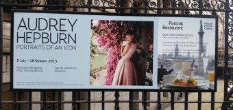 Audrey Hepburn:Portraits Of An Icon Exhibition. 2nd July – 18th October 2015