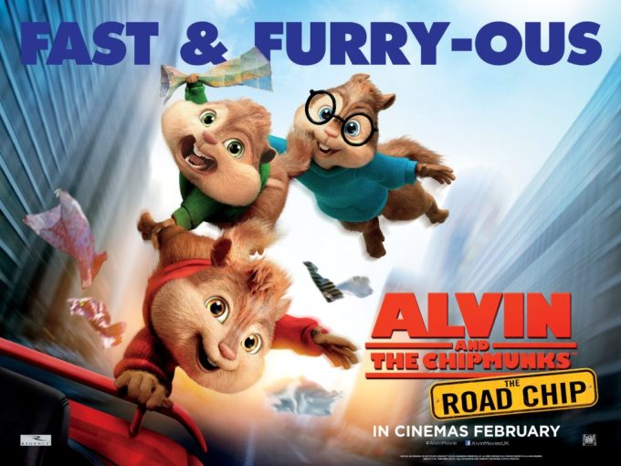 Alvin and the Chipmunks The Road Chip Launch Quad