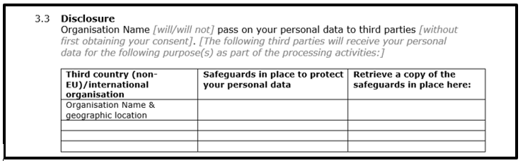 How To Write A Gdpr Data Privacy Notice With Template