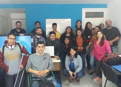Foto grupal alumnos MKT
