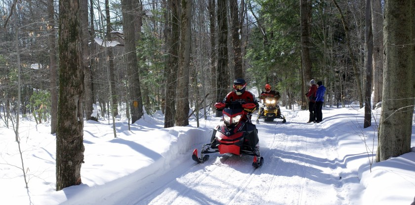 Yellow Barn snowmobile trails 047