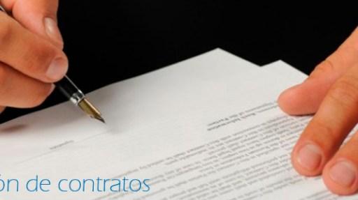 Gestión de contratos