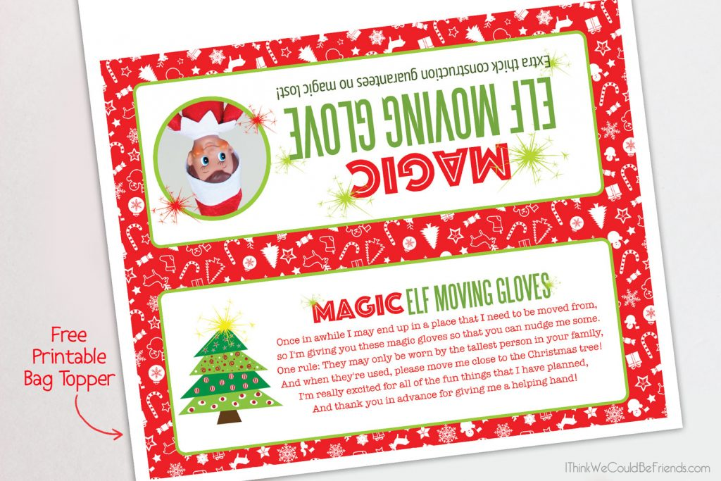 DIY Magic Elf On The Shelf Moving Glove With Free