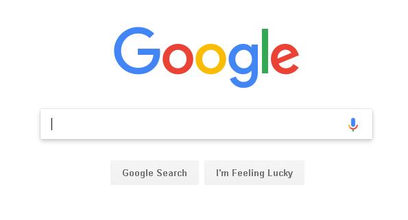 halaman utama pencarian google