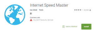 aplikasi untuk melajukan internet