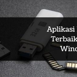 Aplikasi portable terbaik untuk windows