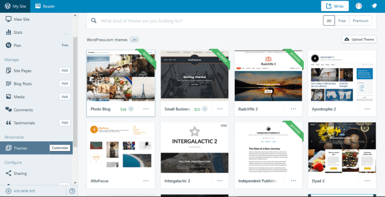 paparan theme wordpress
