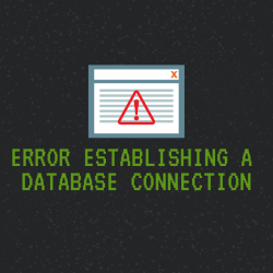masalah error establishing a database connection