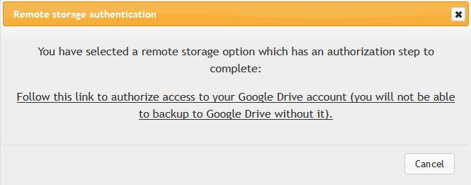 notifikasi remote storage authentication