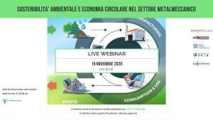 Webinar Lau sostenibilità ambientale