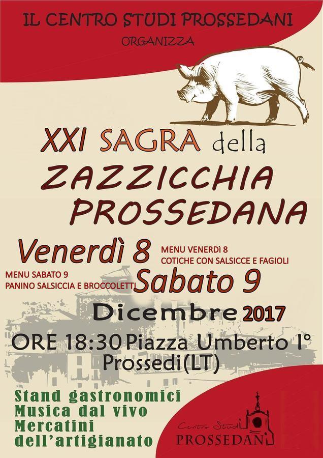 XXI Sagra della Salsiccia a Prossedi (LT)