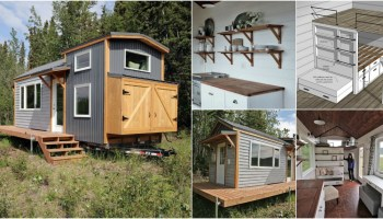 17 Do it Yourself Tiny Houses with Free or Low Cost Plans