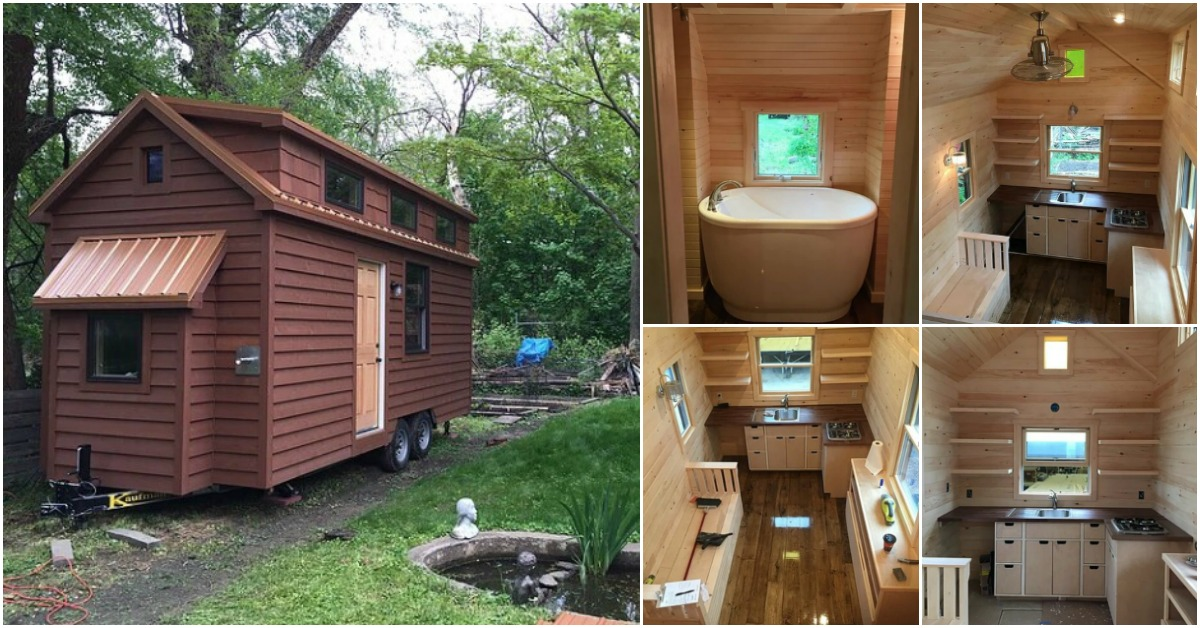 The Brownie by Liberation Tiny Homes is a Rustic Dream Come True {14 Photos}