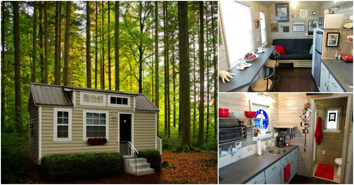 Retire And Travel The World In This One Story Tiny House By Tiny Home Builders Tiny Houses