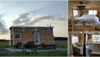 Tiny House Hunters Fans Build Their Own 280 Sq Ft Tiny Mansion