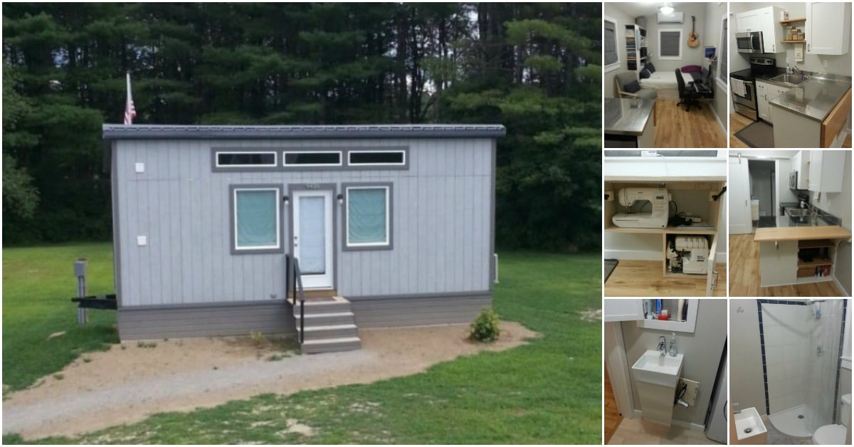 Avid Crafter DIYs Her Own Tiny House For Under 20k Tiny Houses