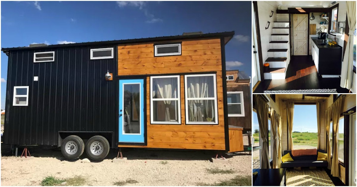 Texas-Style Tiny House by Incredible Tiny Homes of Tennessee