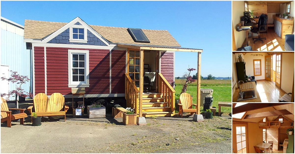 The Washington Craftsman from Tiny SMART House