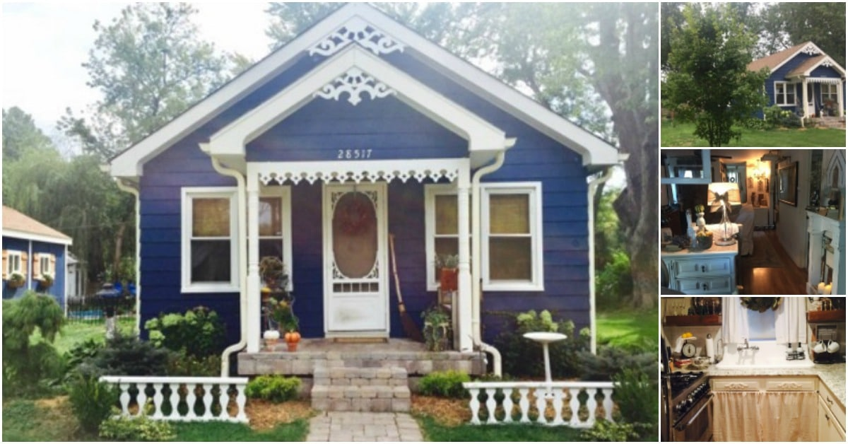 It Was Just a Dilapidated Old Shack … Until It Was Transformed Into an 850-Square-Foot Dream Home