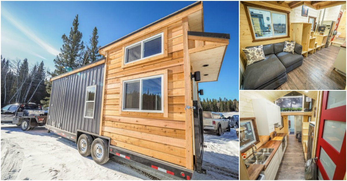 The Crow by Blackbird Tiny Homes Is 24' of Total Comfort and Style
