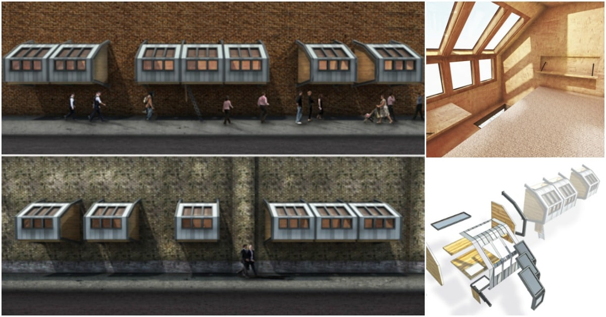 Could These Tiny Sleeping Pods Be the Answer to London's Homeless Problem?