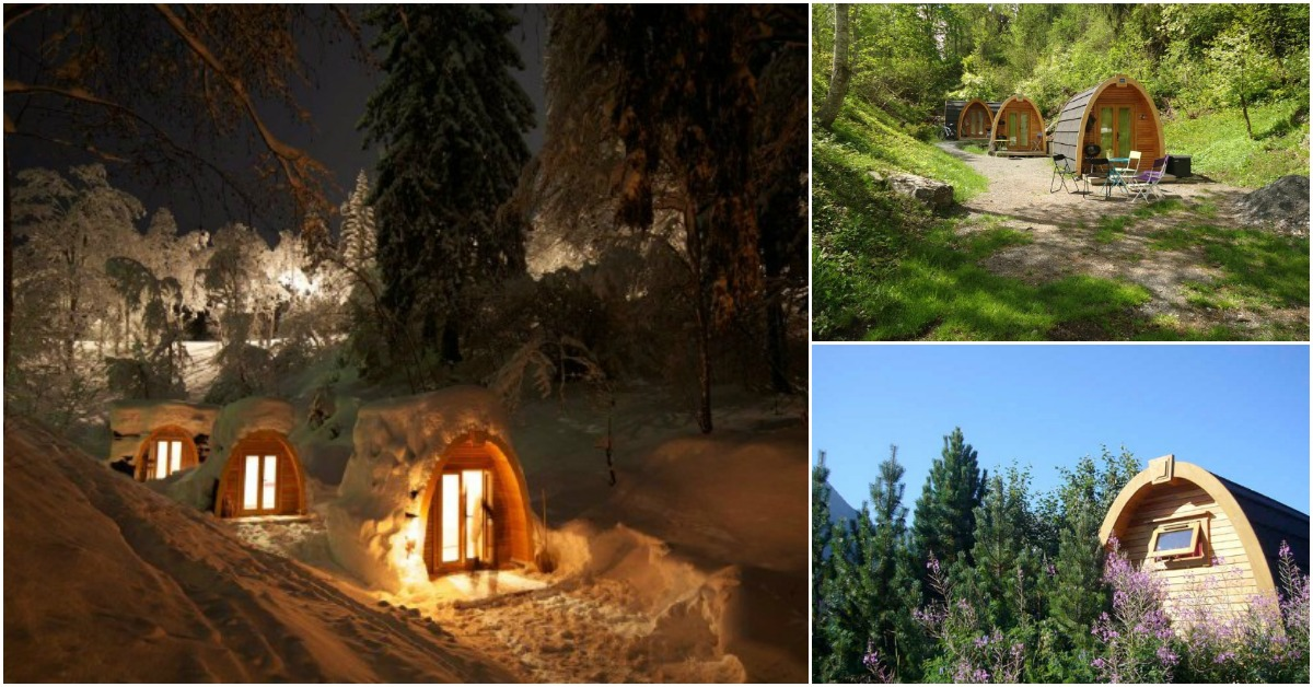 "The Menhir PodHouse Allows You to ""Step In And Feel Good"""