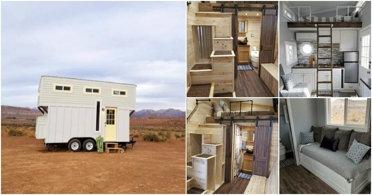Live Tiny, Live Happy, Live Free in a Zion Tiny Home