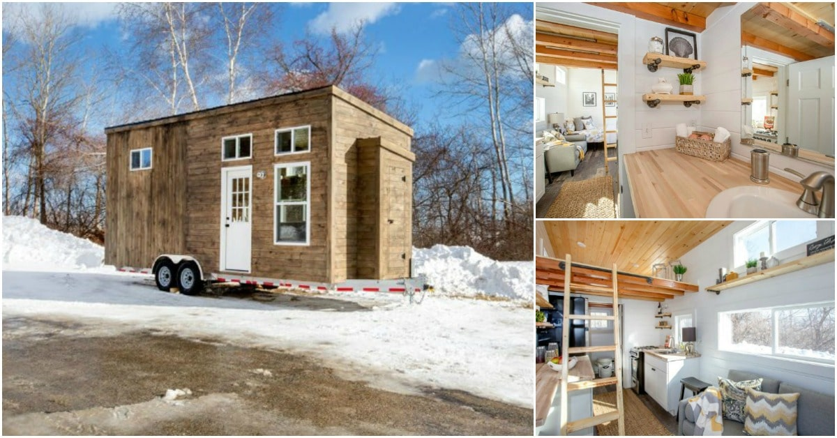 Now Is Your Chance to Snag This Beautiful Tiny House at a Steep Discount