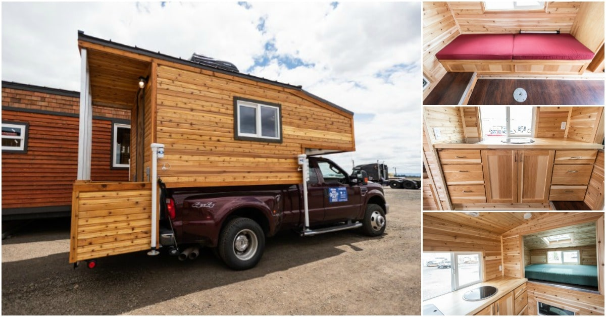 The Tiny Traveler Takes Truck Campers to a Whole New Level