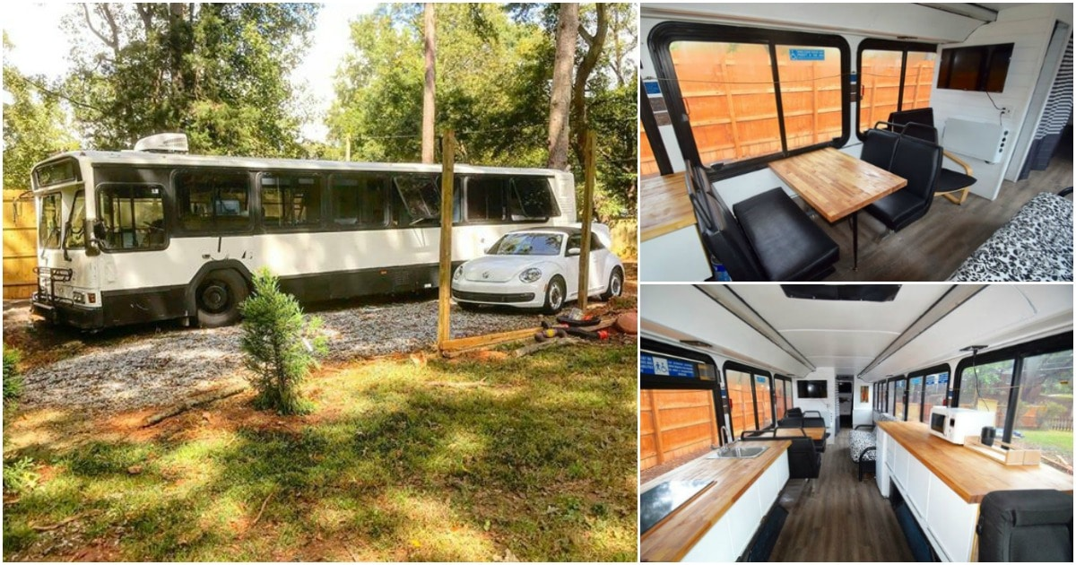 This Converted Transit Bus Is Now an Amazing Tiny House