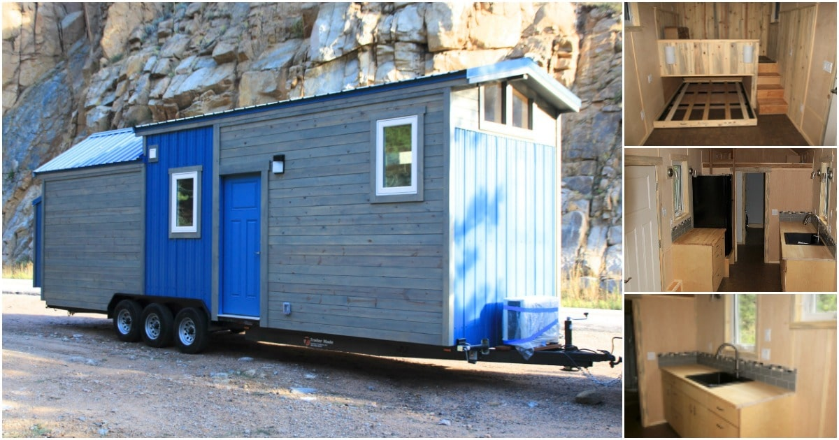 The Jayhawk Tiny House Featuring Creative Space-Saving Solutions