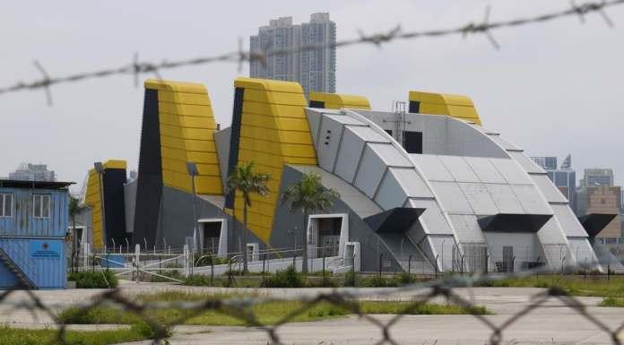 Ventilation Building of Kowloon Station | 九龍站空調機樓