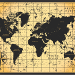 Vintage Maps Wallpapers World Map Wallpaper Sepia New World Map Hd Image Black And White 153565 Hd Wallpaper Backgrounds Download