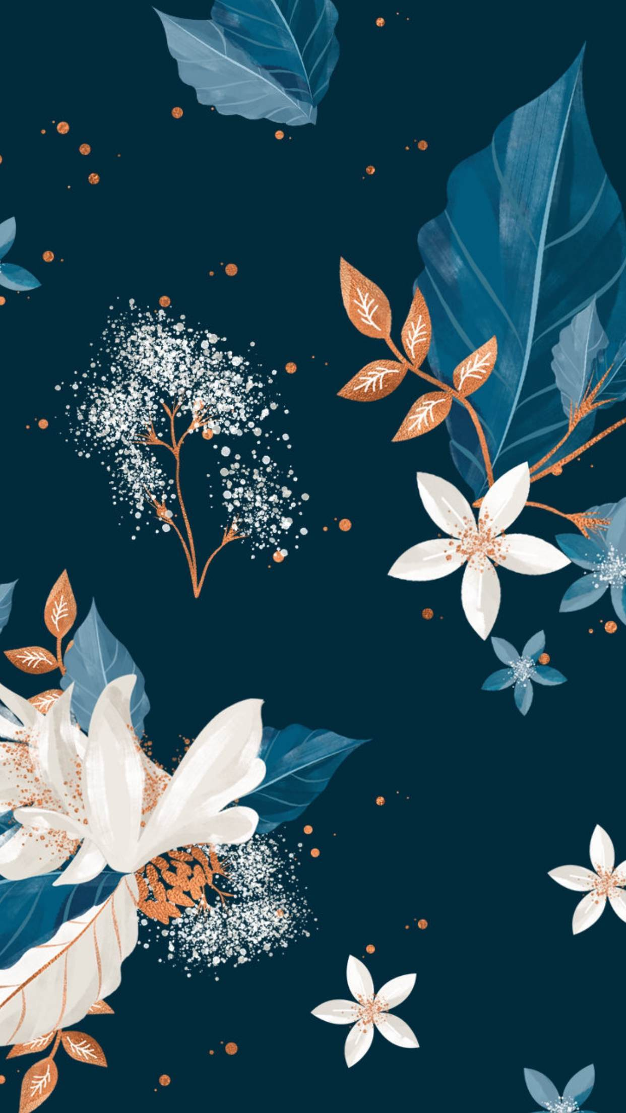 Floral Wallpaper Floral Wallpapers Floral Wallpaper Spring Popular Glitter Wallpaper For Iphone 20508 Hd Wallpaper Backgrounds Download