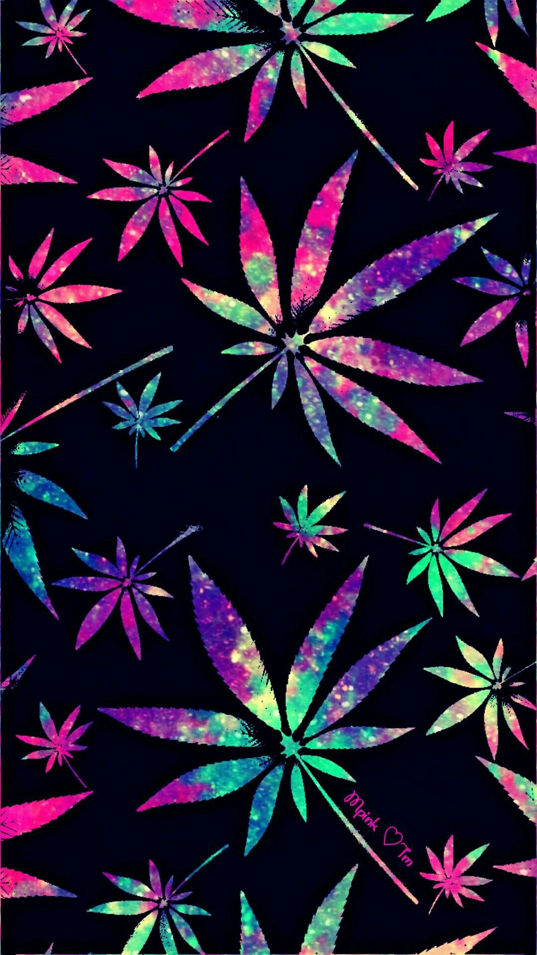 Weed Phone Wallpaper Best Phone Wallpaper Images Shiny Galaxy Weed 2932434 Hd Wallpaper Backgrounds Download