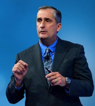 Intel CEO Brian Krzanich at Intel CES Keynote speech Source Intel