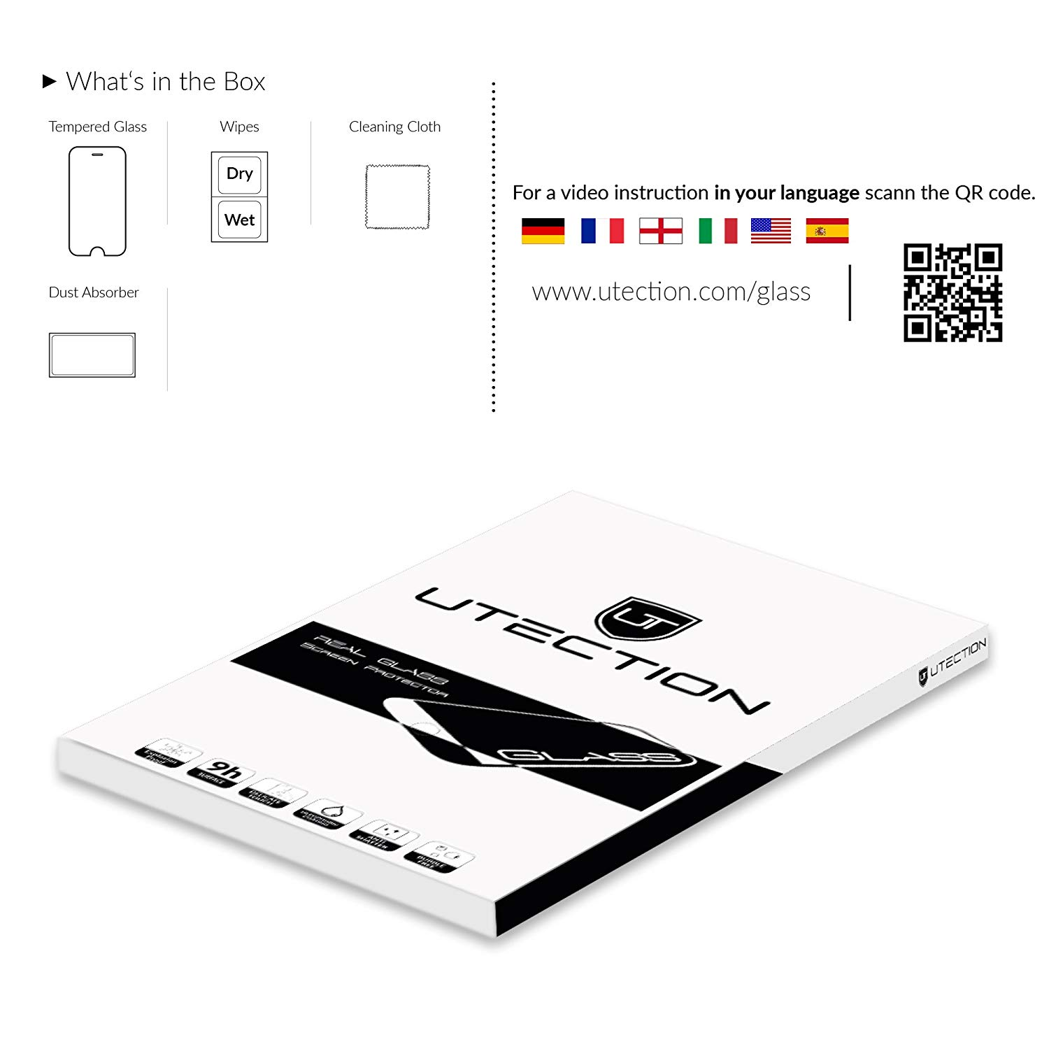 Tempered Glass Guard 9h Screen Protector Film For Ipad