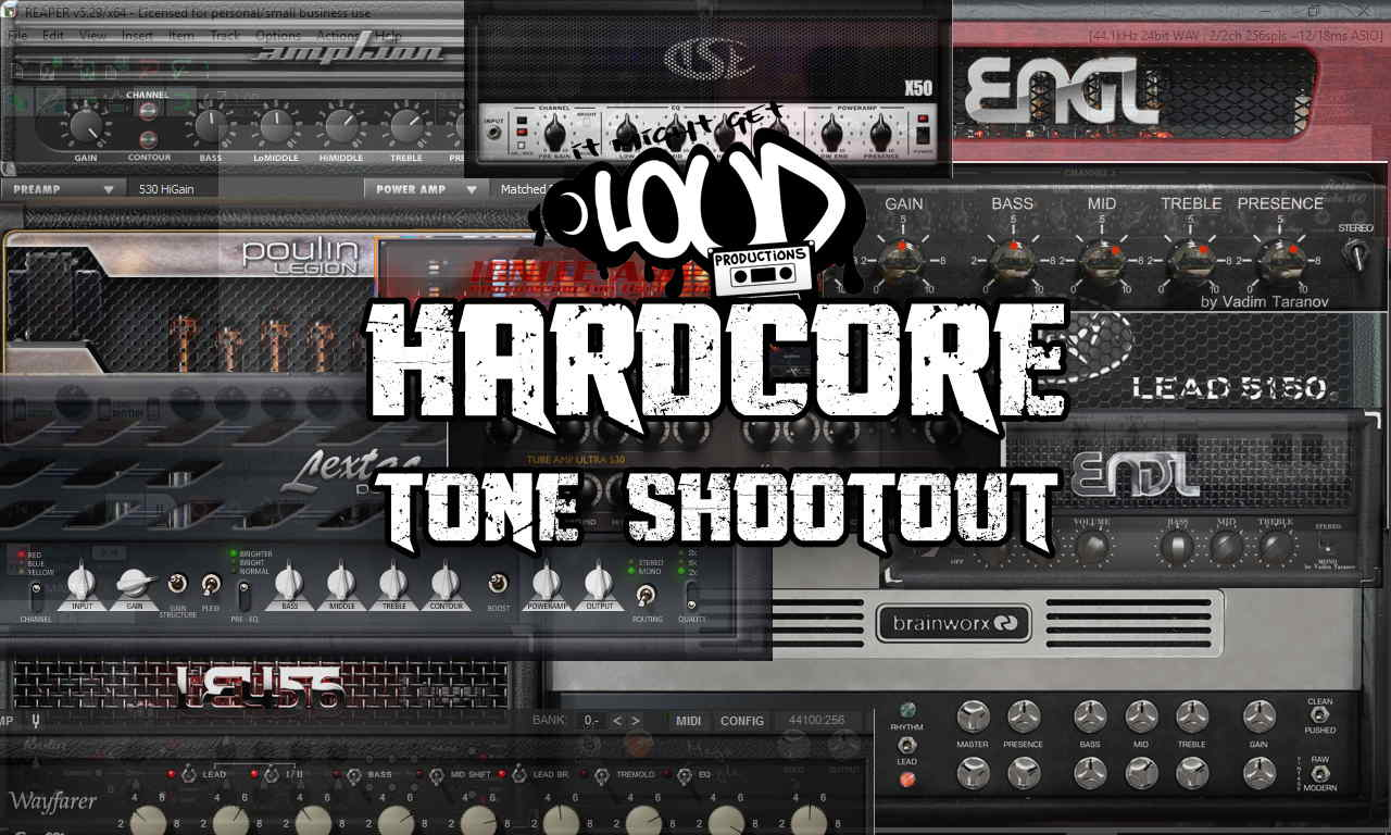 Hi Gain Hardcore Guitar VST Shootout