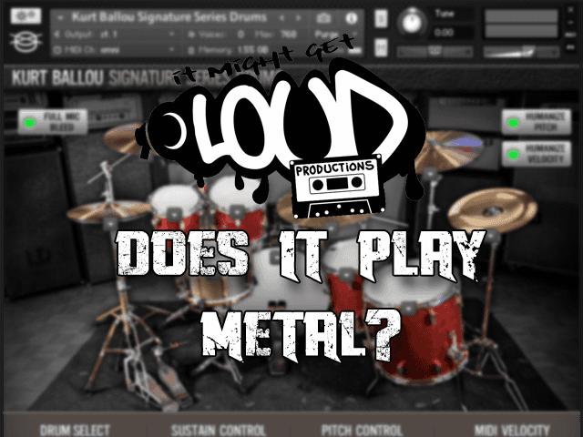 Kurt Ballou Drums: Does it Play Metal?