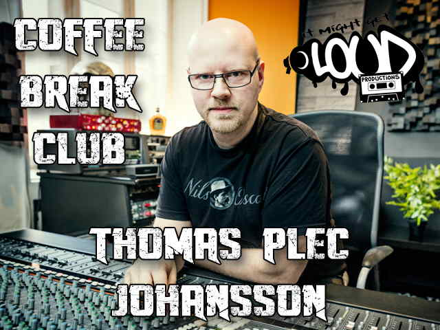 """Coffee Break Club: Thomas """"Plec"""" Johansson"""