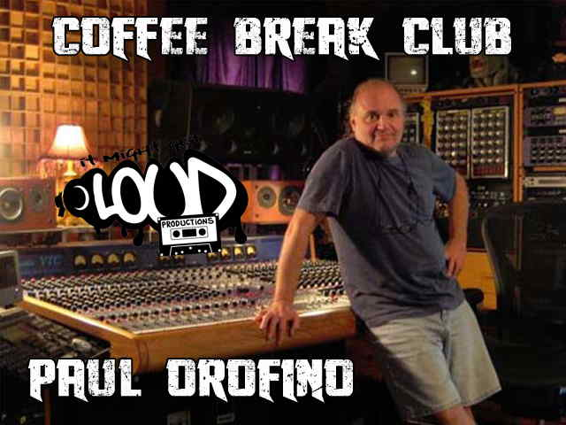 Coffee Break Club: Paul Orofino