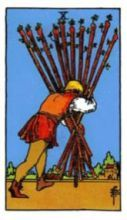 THE TENS OF WANDS